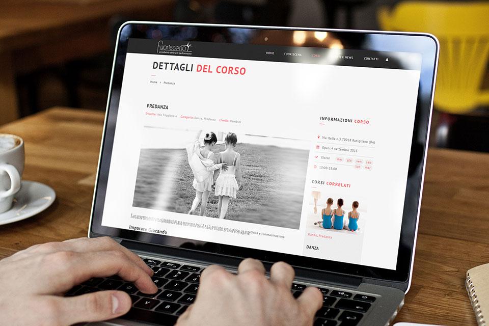 Fuoriscena - Mauro Di Marino - Grafico Freelance e Web Designer